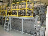 配電網改修工事及びディーゼル発電機据付工事