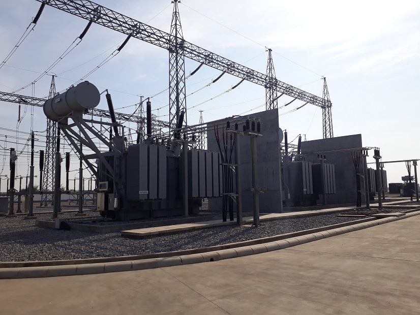 ティラワ経済特区230kV発電所・送電線建設工事