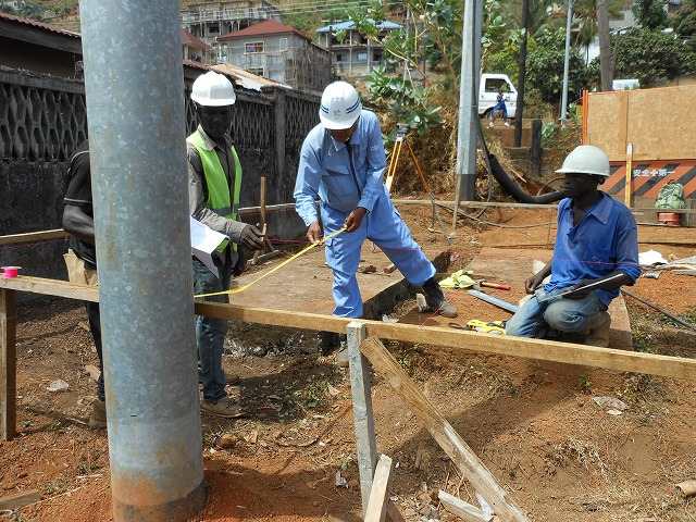 Construction of secondary substation